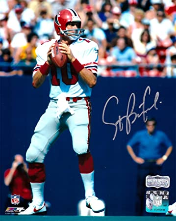 new arrive 3e88e e6a12 Steve Bartkowski Autographed/Signed Atlanta Falcons ...