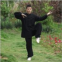 Mr. Hao Tai Chi Ropa de algodón de Seda Ejercicio Ropa Hombres Mujeres Verano y 4 en Color Tai Chi Rendimiento Ropa Que…