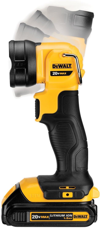 DEWALT 20V MAX LED Work Light / Flashlight (DCL040) - Basic Handheld Flashlights -