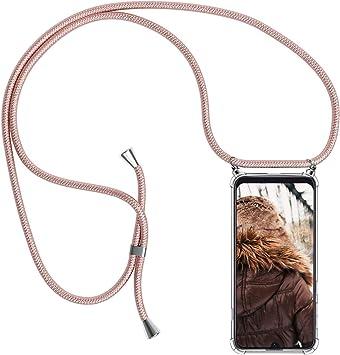MXKOCO Carcasa de movil con Cuerda para Colgar Samsung Galaxy A40 ...