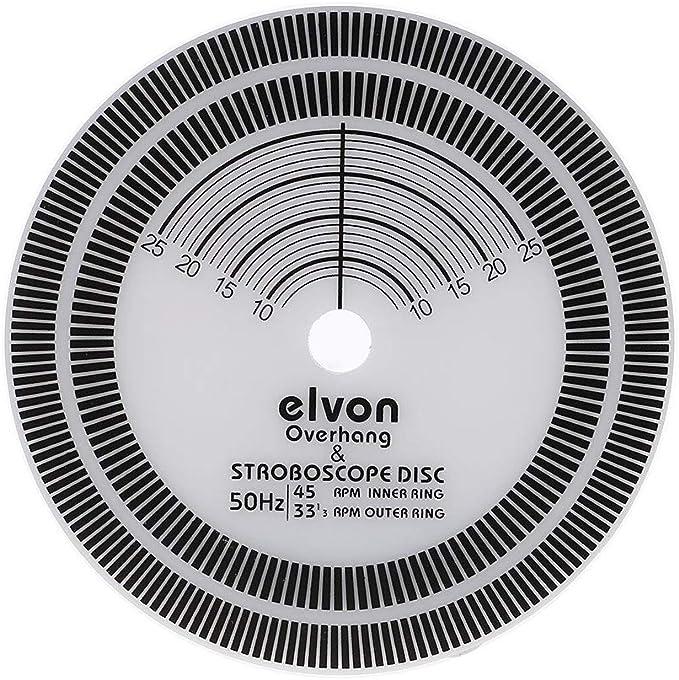WEISHAZI - Tacómetro de calibración para disco de vinilo ...