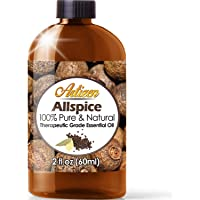 2oz - Artizen Allspice Essential Oil (100% Pure & Natural - UNDILUTED) Therapeutic Grade - Huge 2 Ounce Bottle - Perfect for Aromatherapy
