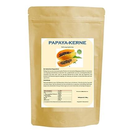 150 g semillas de papaya: Amazon.es: Salud y cuidado personal