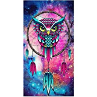 Starnearby 5D Diamond Painting Owl Dreamcatcher Embroidery DIY Cross Stitch Crystal Rhinestone Embroidery Pictures Arts Craft Home Decor