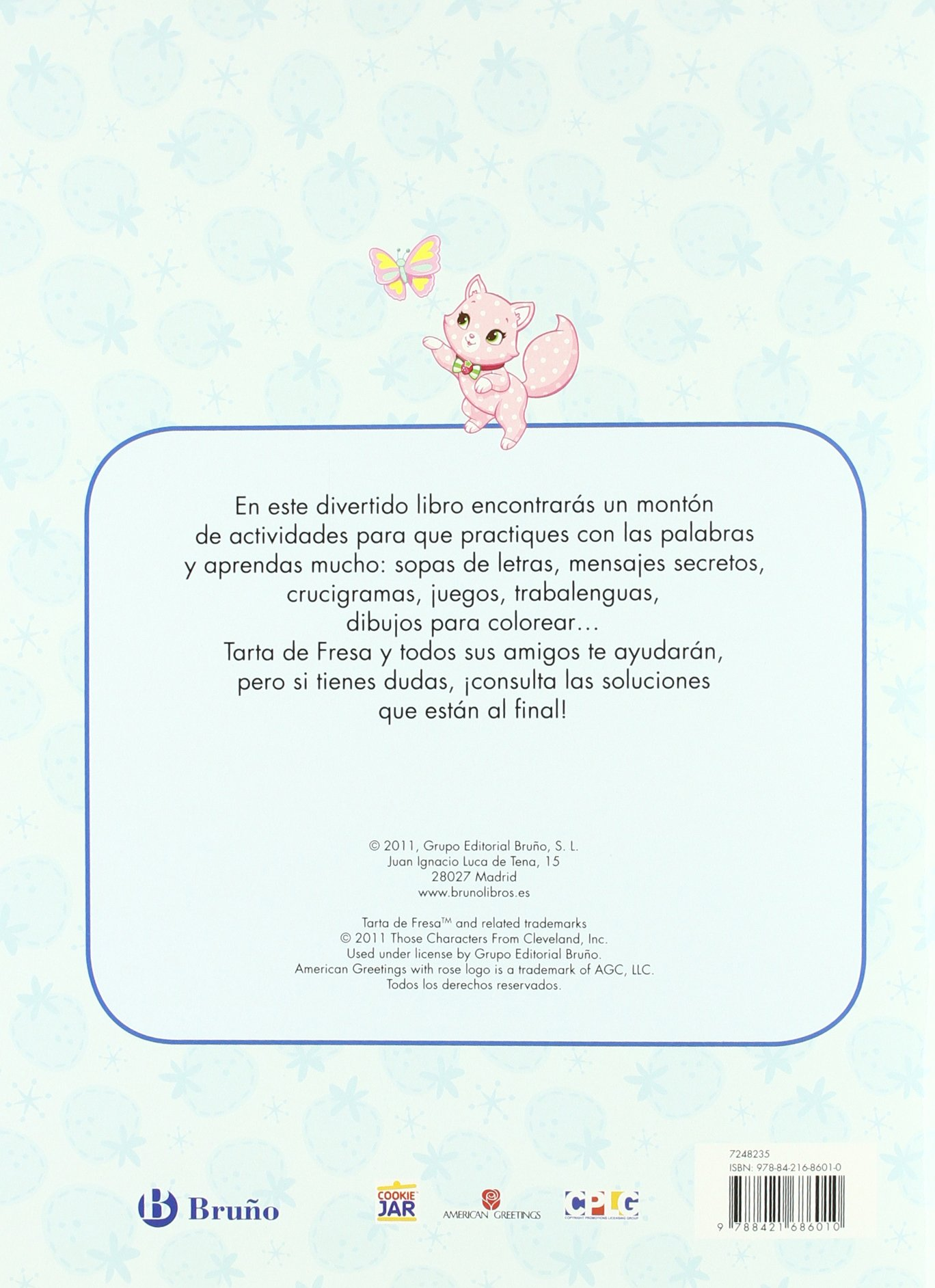 Juego con las palabras Castellano - Bruño - Tarta De Fresa: Amazon ...