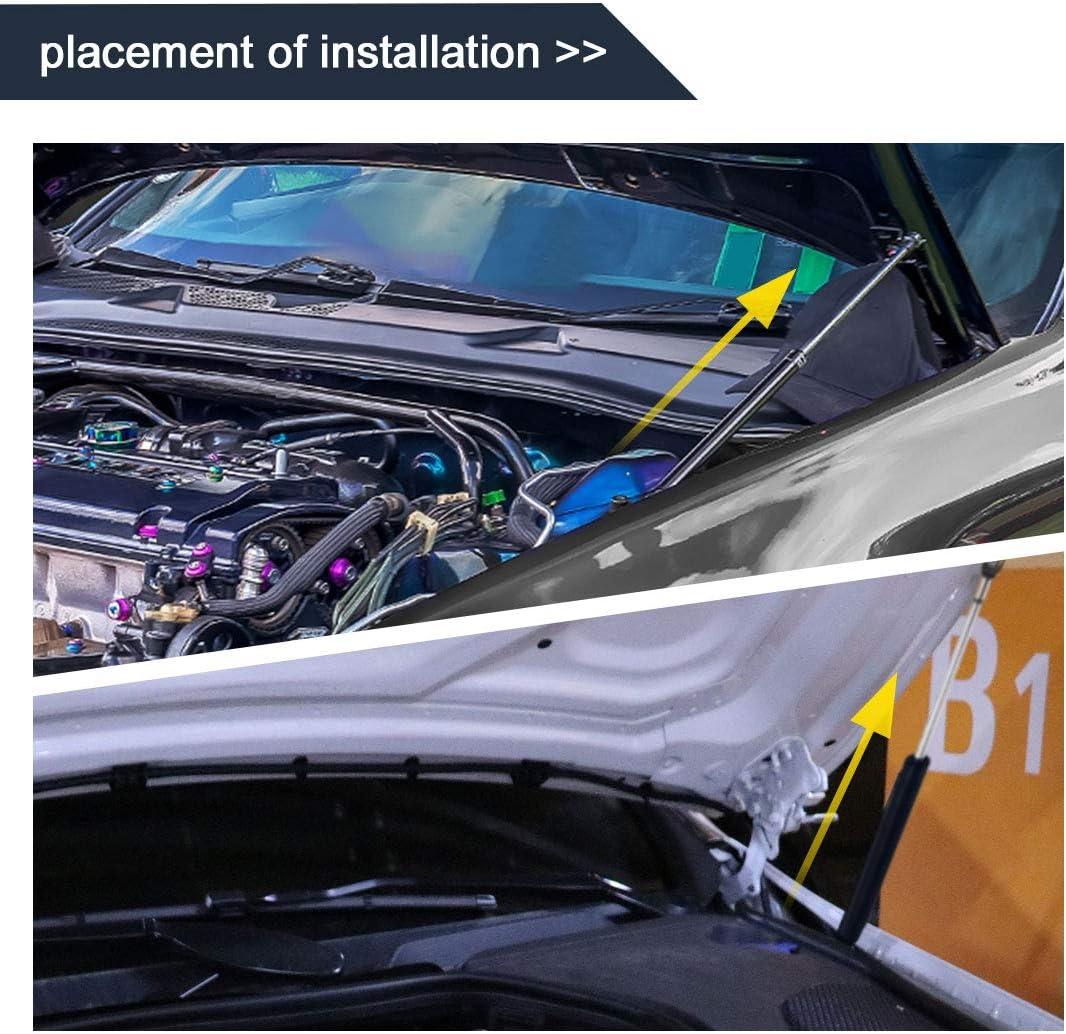 sourcing map Gasfeder 5Kg 11Lb Kraft Auto Heckklappe Arm Schock Beweis Strut Prop Stab
