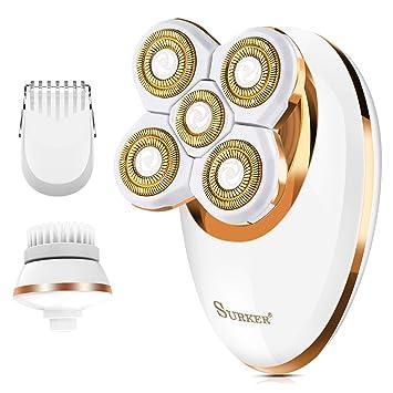 Amazon.com: Afeitadora eléctrica para mujer, afeitadora de ...