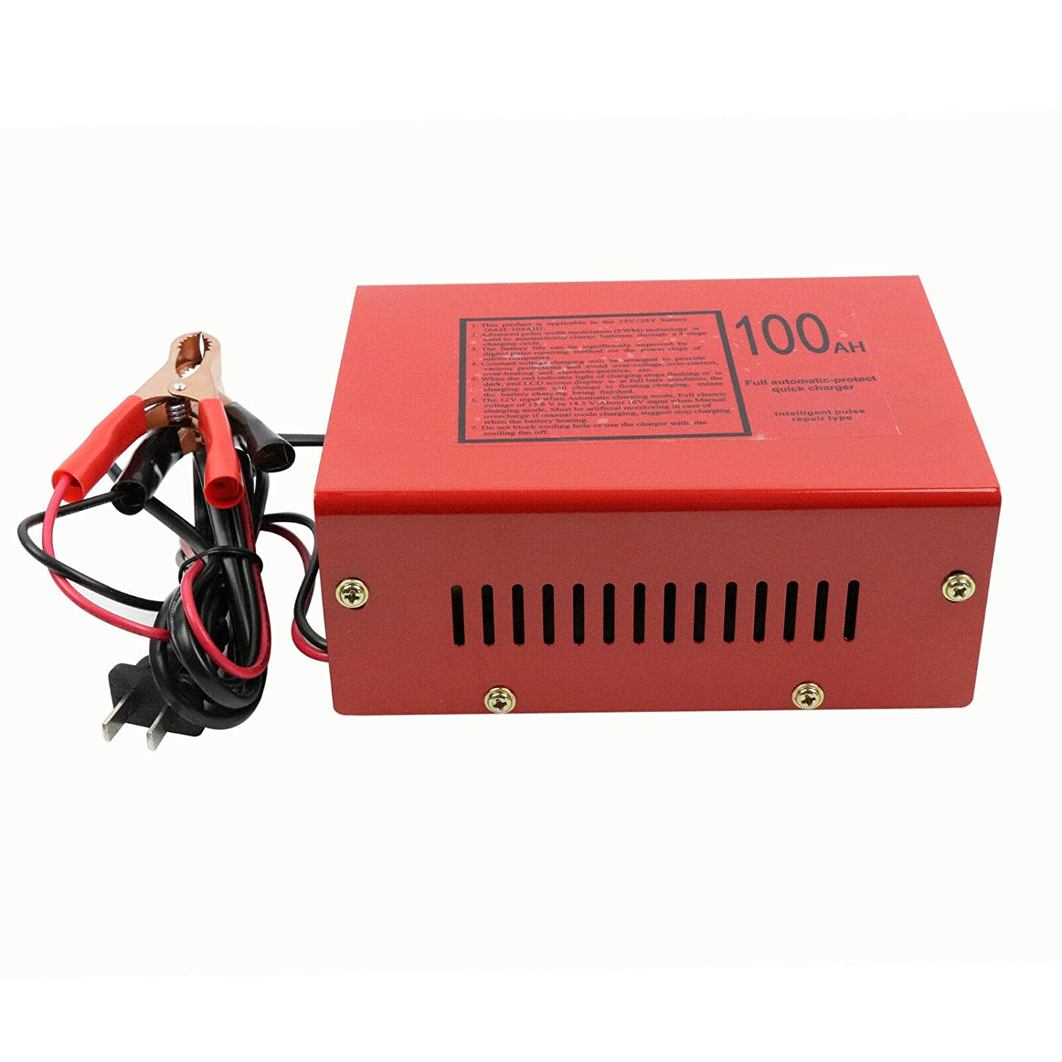 New 12V//24V 10A 140W for Car Motorcycle Lead Acid Battery Charger Full Automatically