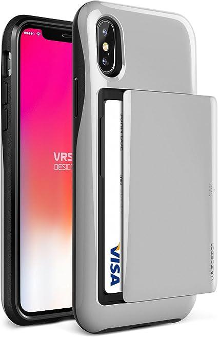 DISPENSER - Compatibile Custodia Apple iPhone Xs Max. Satin Colore