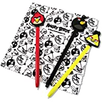 Stylets x3 + Chiffonnette 'Angry Birds' pour 3DS