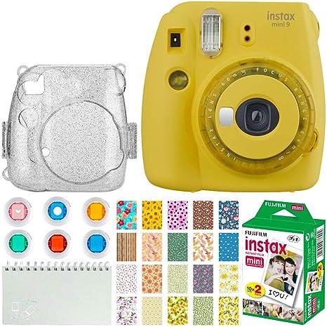 Fujifilm Instax Mini 9 Cámara instantánea + Fujifilm Instax Mini ...