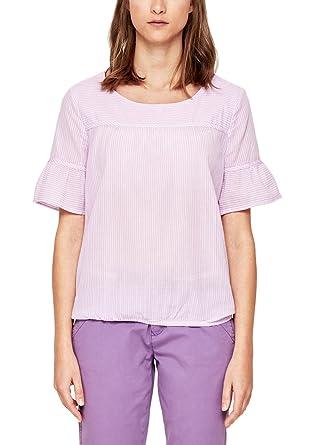 Oliver RED LABEL Damen Oversize-Bluse mit Ajour-Muster  s.Oliver   Amazon.de  Bekleidung 8394dd6b17