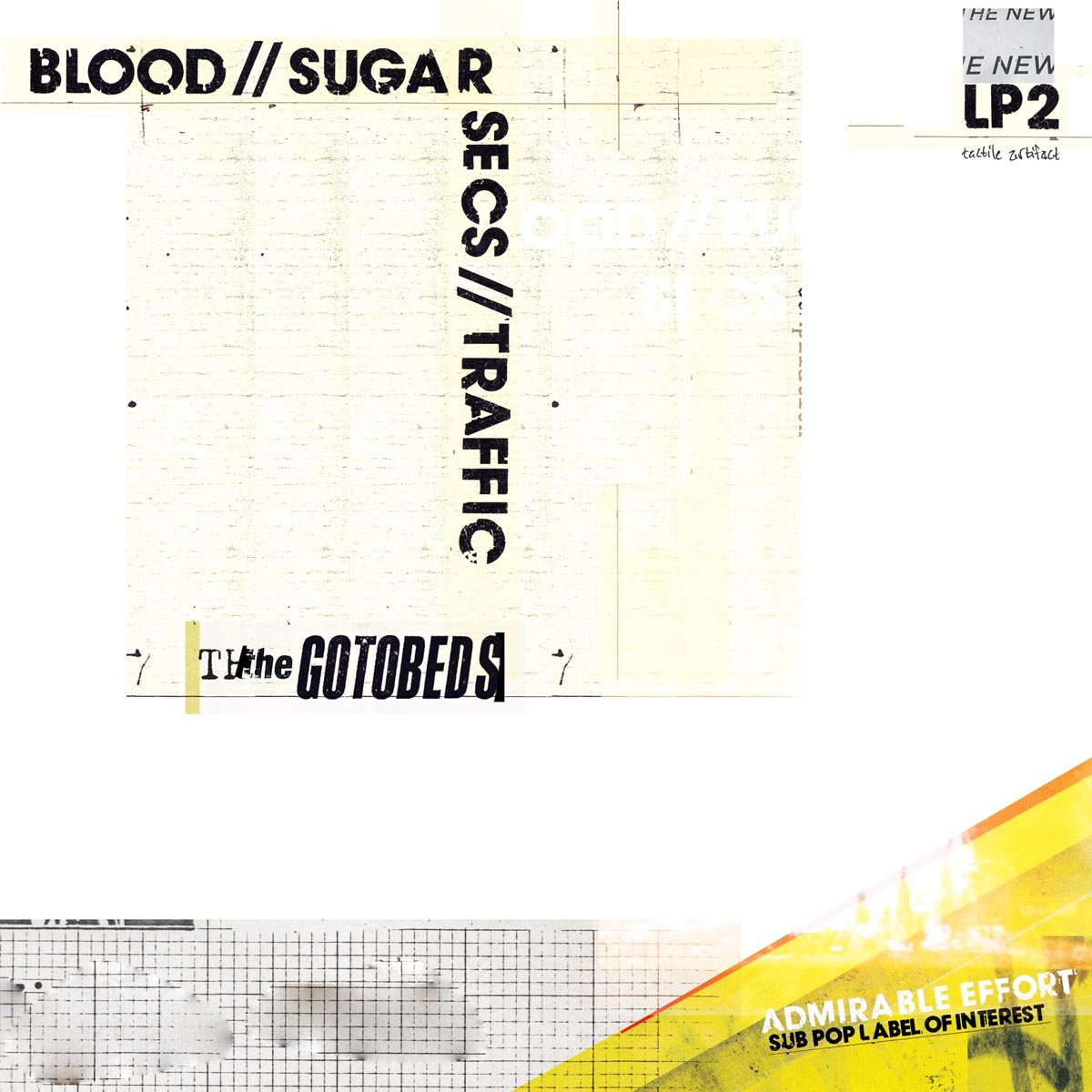 Cassette : Gotobeds - Blood / / Sugar / / Secs / / Traffic (Cassette)