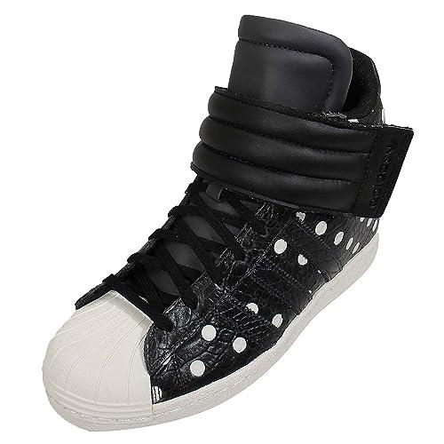 huge discount 705e2 130e3 adidas Women s Superstar Up Strap Black White S81718 (SIZE  9)  Amazon.ca   Shoes   Handbags