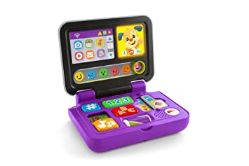 Amazon.es: Fisher-Price Mi primer ordenador, juguete educativo bebé +6 meses (Mattel FXK32)