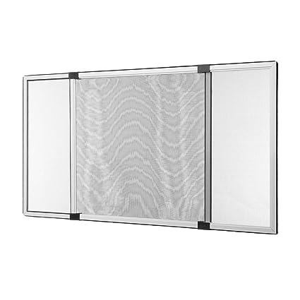 50 x 75 cm Insektenschutz Schiebe Fenster Fliegengitter M/ückenschutz weiss