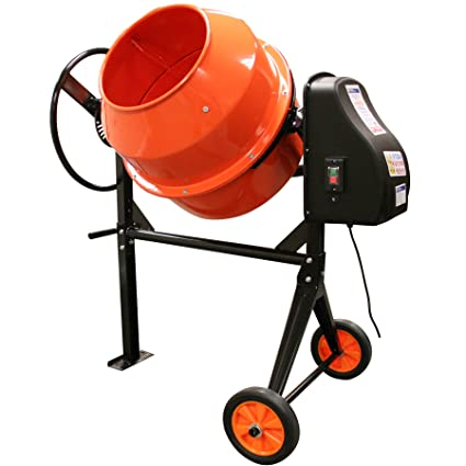 140L Electric Cement Plaster Mortar Concrete Grass Animal Feed Mixer