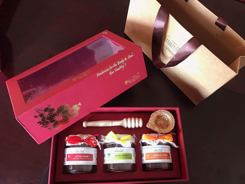 Corporate Christmas Gifts.Farm Naturelle Set Of 5 Stunningly Beautiful Corporate