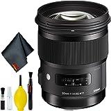 Sigma 50mm f/1.4 DG HSM Art Lens for Nikon F Standard Kit