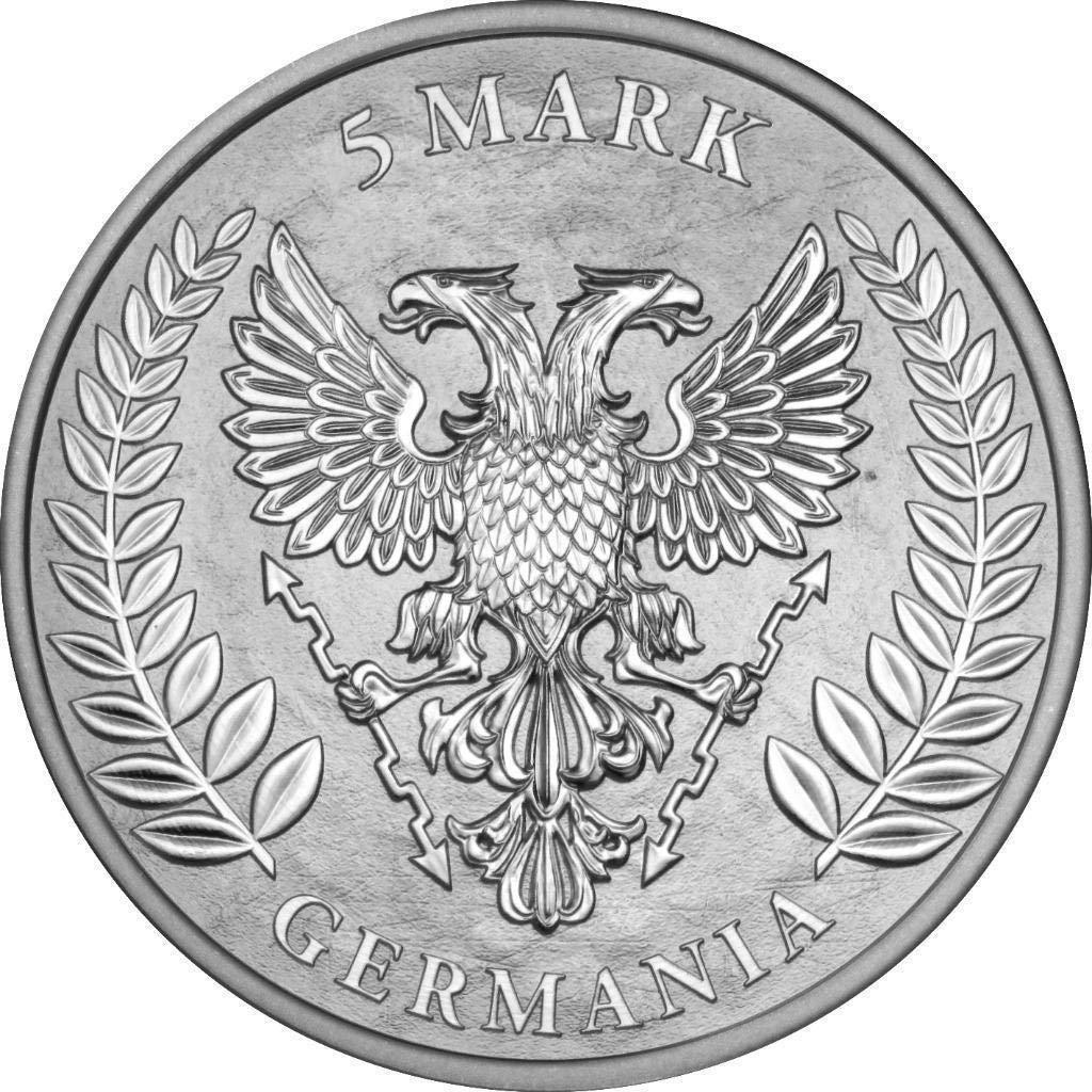 2019 de bu germania 1 oz 999 silver coin 2 uncirculated bm at Half Dollar Coin 2019 de bu germania 1 oz 999 silver coin 2 uncirculated bm at amazon s collectible coins store