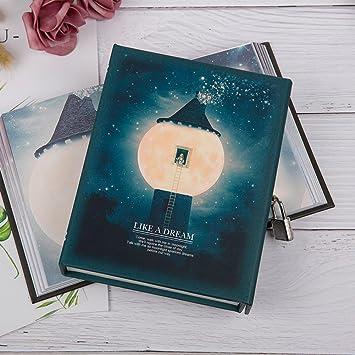 Elegante y elegante cuaderno de agenda con cerradura y llave ...