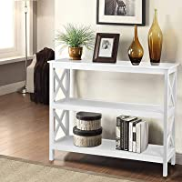 Artiss Hallway Console Table Wooden Entryway Display Stand, White