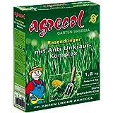 Premium Rasendünger mit Unkrautvernichter gegen Unkraut im Rasen - hochergiebig 1,2Kg für 60m² Rasenfläche