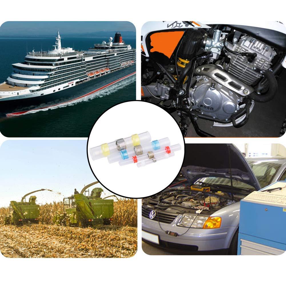 CTlite - Conectores de alambre de soldadura para sellado, conectores termorretráctiles para terminales eléctricos, aislados e impermeables, ...