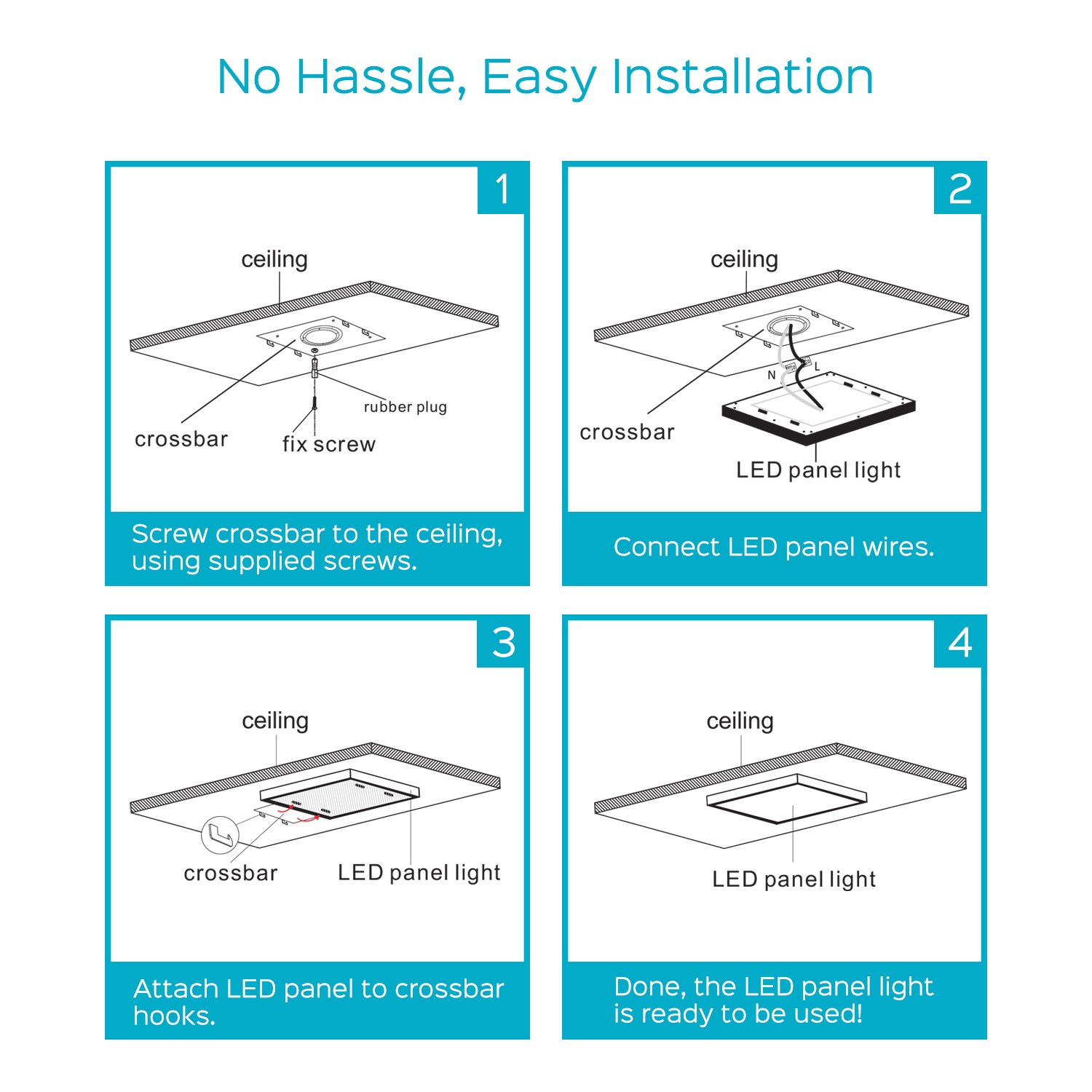 Led Panel Light Wiring Diagram - Trusted Wiring Diagrams