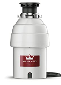 Waste King L-8000 Garbage Disposal, 1HP