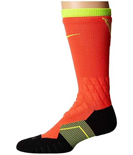 Nike Nike 2.0 Elite Vapor Crew Fade Football Bright Crimson/Volt/Volt Crew  Cut