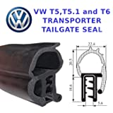 VW T5 TRANSPORTER TAILGATE AND BARN DOOR RUBBER BODY SEAL T5 REAR DOOR SEAL