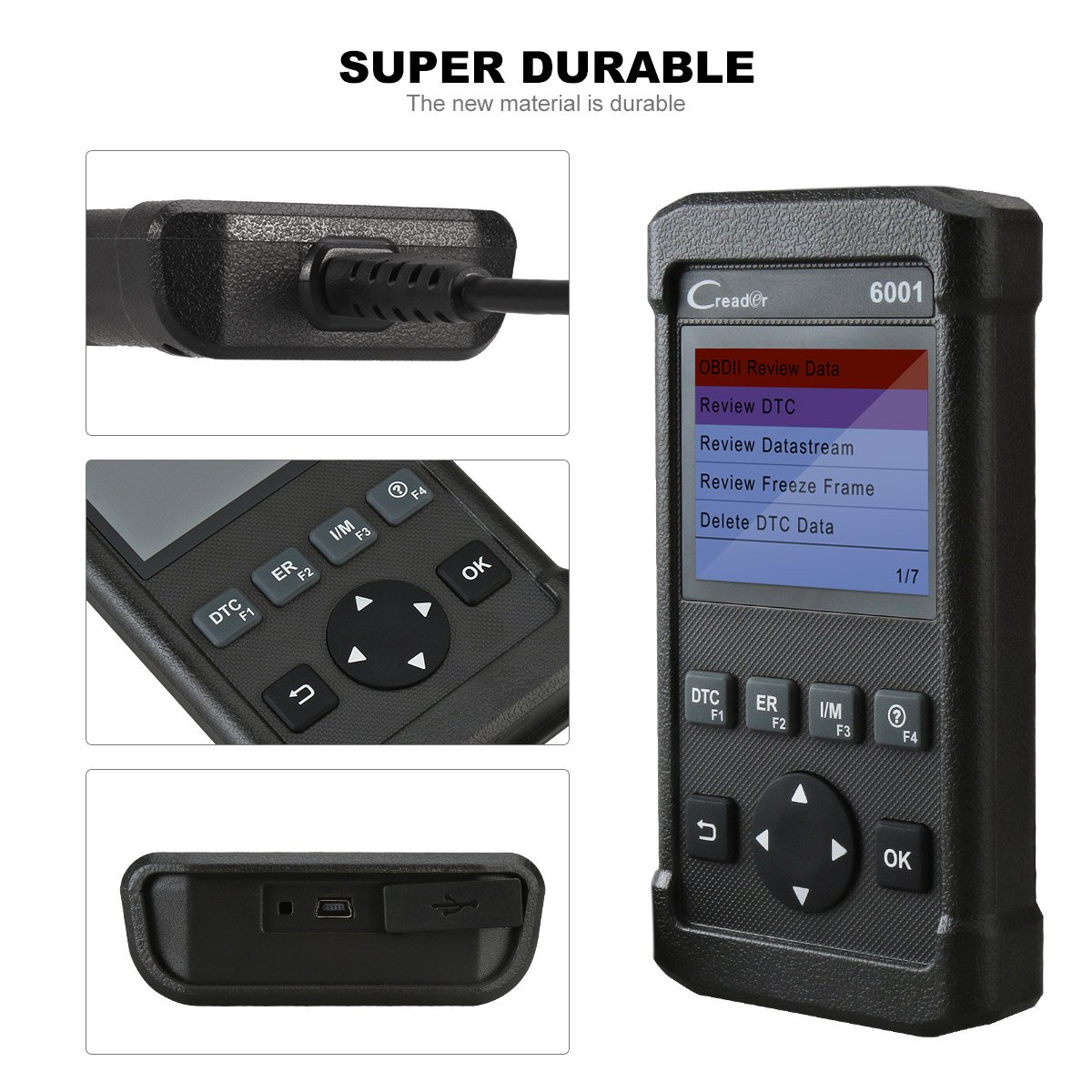 Car Code Reader Launch 6001 OBD2 Scanner Scan Tool