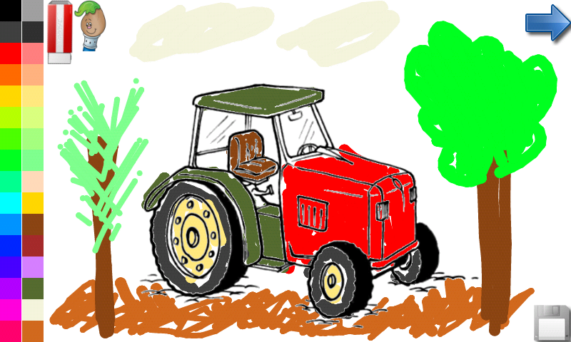 Libro para colorear: la granja!: Amazon.es: Appstore para