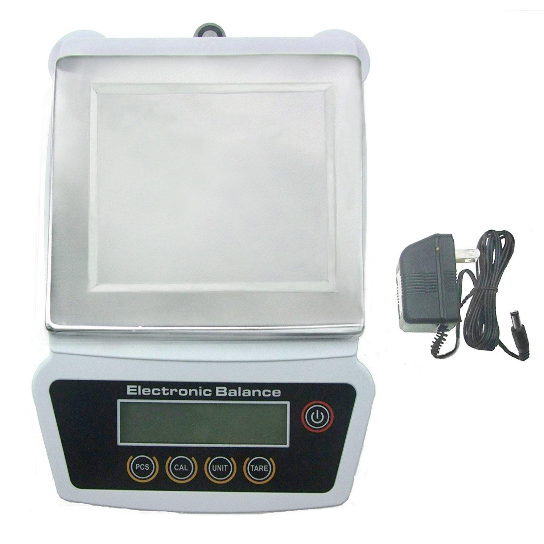 5000G x 0.1G Digital Precision Analytical Balance Lab Scale