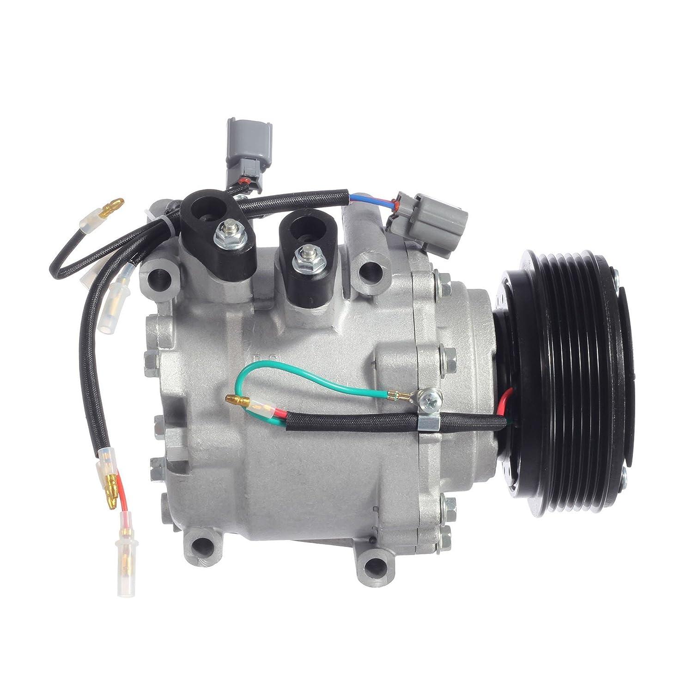 AUTEX AC Compressor /& A//C Clutch Replacement CO 10541AC 38810P5M016 57878 77599 6512266 2004913AM for 2001 Acura EL 1.7L 2001 Honda Civic 1.7L 1997 1998 1999 2000 2001 Honda Prelude 2.2L