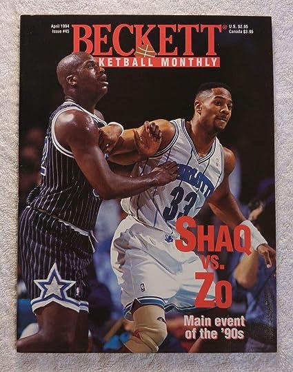 69b82cbc0bd43 Shaquille O Neal   Alonzo Mourning - Orlando Magic   Charlotte Hornets -  Beckett Basketball