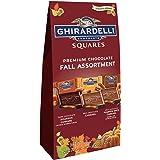 Ghirardelli Halloween Premium Chocolate Fall Assortment Squares ギラデリハロウィーンプレミアムチョコレート秋詰め合わせ190g 1袋 [並行輸入品]