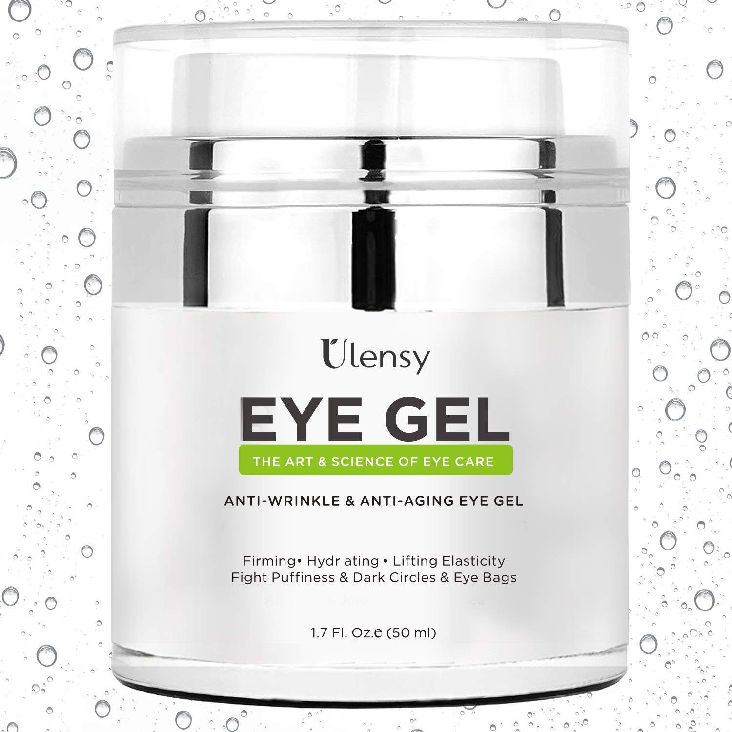 Ulensy Eye Gel Cream, Eye Gel Cream for Dark Circles, the Best Anti-Aging Eye Gel Cream for Eye Care by Ulensy