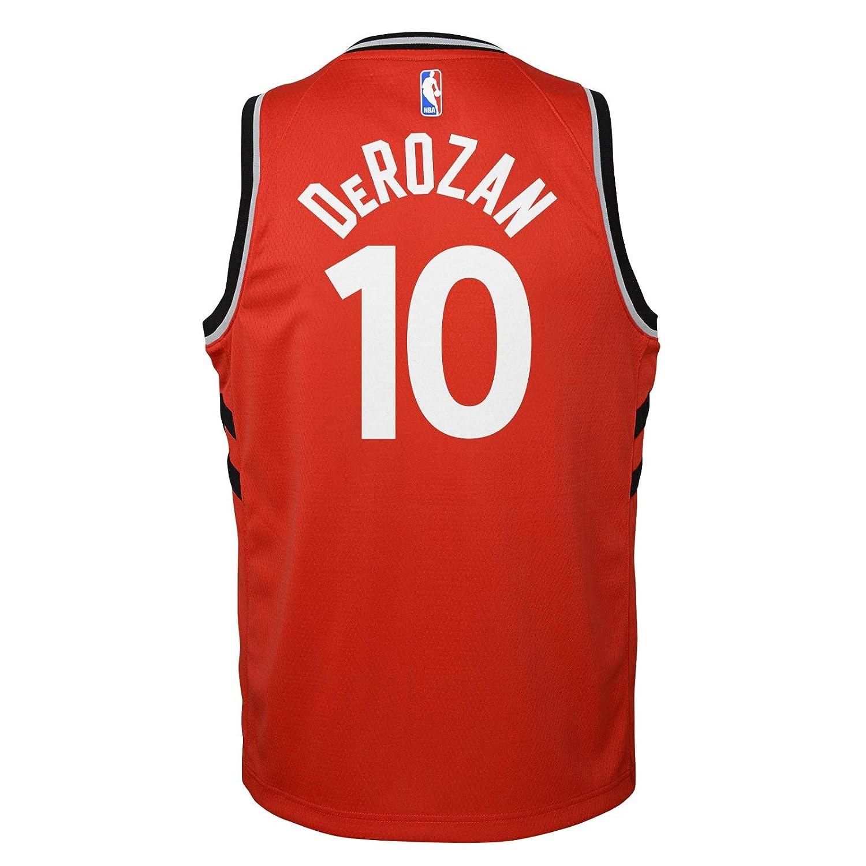 edb92ed7d Amazon.com   Outerstuff DeMar DeRozan Toronto Raptors NBA Nike Youth Red  Icon Swingman Jersey   Sports   Outdoors