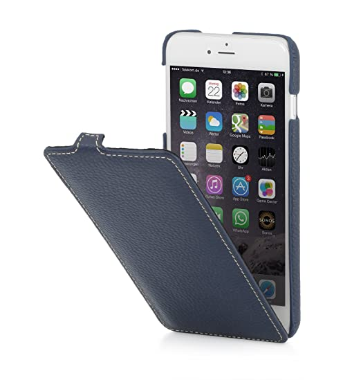 "17 opinioni per StilGut UltraSlim Case, custodia in pelle per Apple iPhone 6s Plus (5.5""), in"