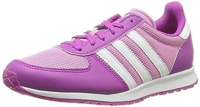 new product 64a54 83be2 adidas Originals Adistar Racer J, Baskets mode mixte enfant, Violet  (OrcsupRosvif