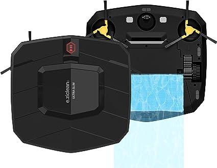 E.Zicom E.Ziclean Robot aspirador Ultra Slim V2, 30 x 30 x 5,5 cm ...