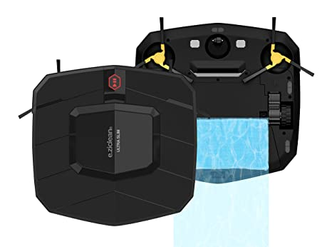 E.Zicom E.Ziclean Robot aspirador Ultra Slim V2, 30 x 30 x 5 ...