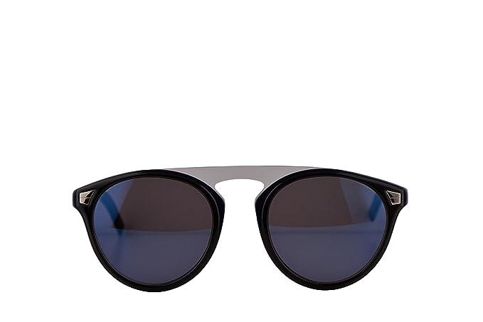 f0c1b45ef84 Amazon.com  Christian Dior Homme DiorTailoring2 Sunglasses Blue Havana w  Blue Sky Mirror Lens 52mm JBWXT Dior Tailoring2 Dior Tailoring 2 Dior  Tailoring2 S ...