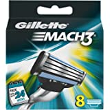 Gillette Mach 3 - Cuchillas de recambio para maquinilla de afeitar