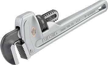 Model 810 Ridgid 31090 10 Aluminum Straight Pipe Wrench