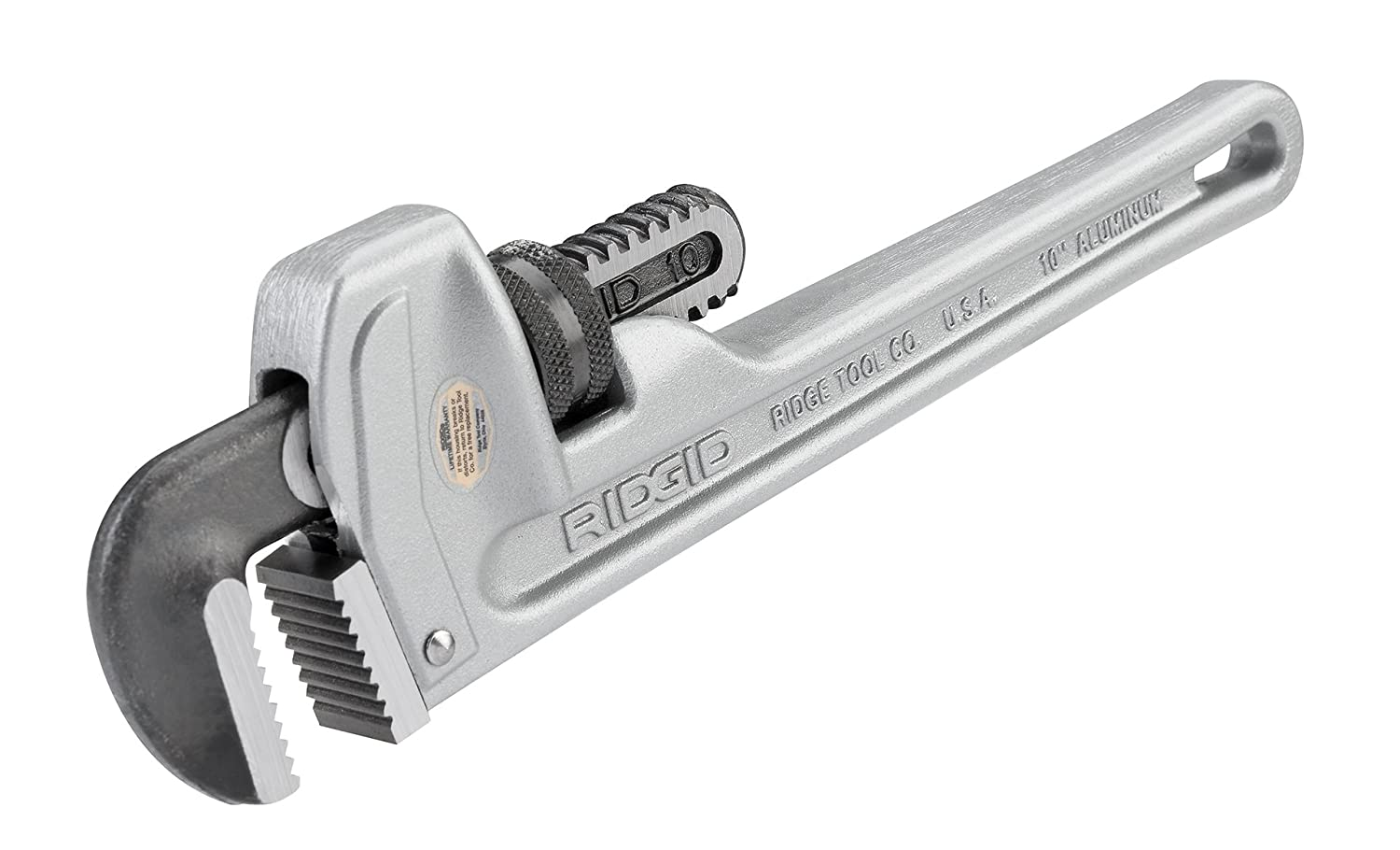 Ridgid Tools 31090 1-1/2-Inch Aluminum Straight Pipe Wrench