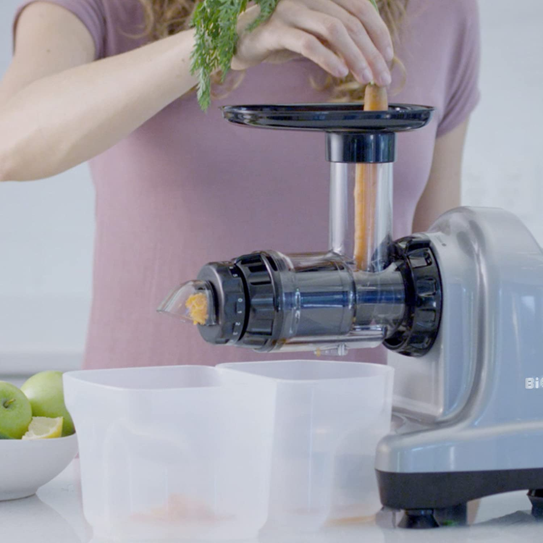 Extractor de zumo BioChef Axis Cold Press Juicer – Extractor de ...