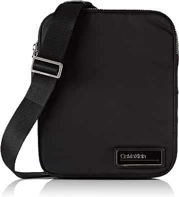 Calvin Klein - Primary 2 G Ipad Flat Crossover, Shoppers y bolsos de hombro Hombre, Negro (Black), 5x27x22 cm (B x H T)